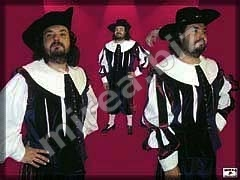Mens' Baroque costume