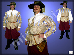 Captains Baroque costume