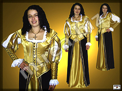 Ladies Baroque noble costume