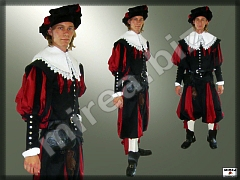 Mens' Baroque Noble costume