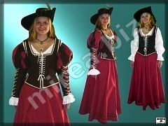 Ladies' Baroque costume