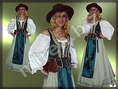 Ladies' Baroque burgher costume