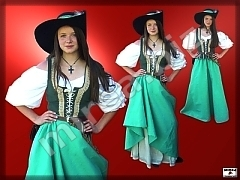 Girls' Baroque costume