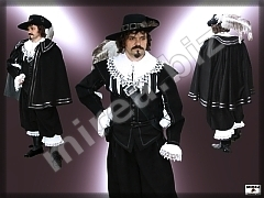Mens' Baroque Noble costume with sheath