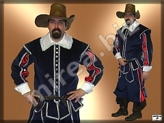 Men's Baroque Captain costume