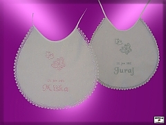wedding bib