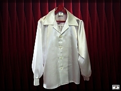 Men's satin shirt