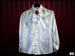 Men's brocade shirt