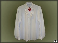 Men's shirt with frill