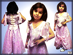 Children's dress costume
