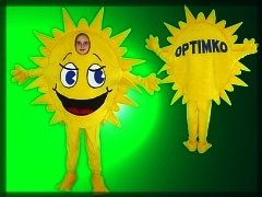 Promotional costume Optimko
