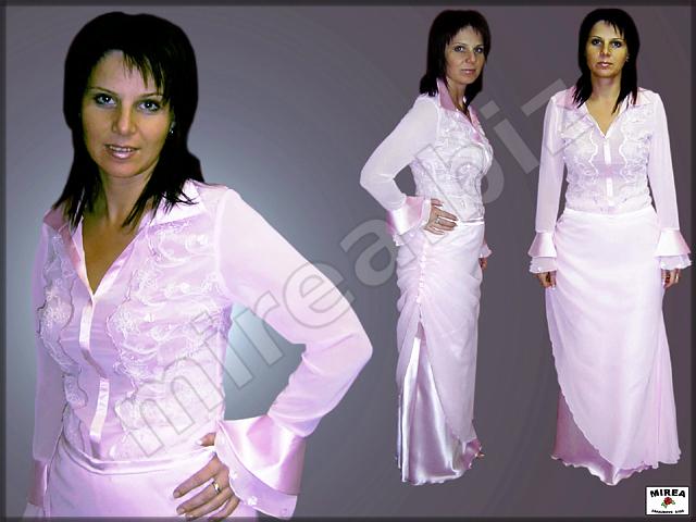 MIREA - zákazkové šitie  Šaty dámske d02811f8b68