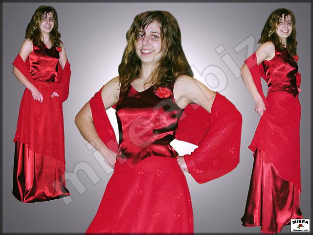 ddac00391064 MIREA - Dámske spoločenské šaty  korzet