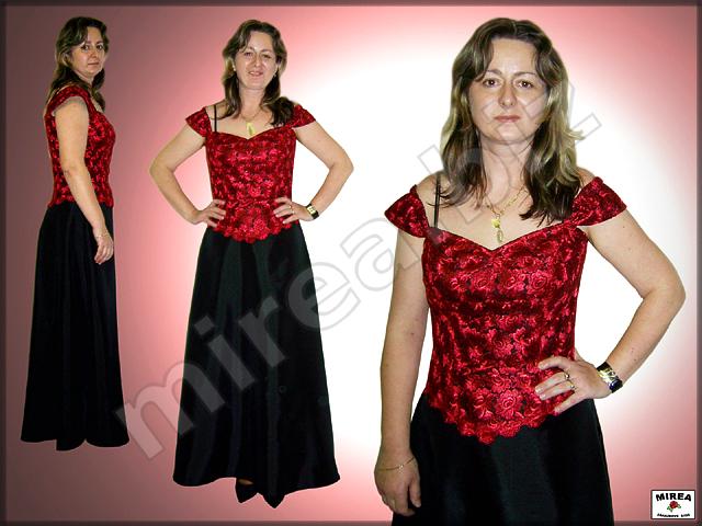 5e9b4b04a8a1 MIREA - Dámske spoločenské šaty  korzet z čipky