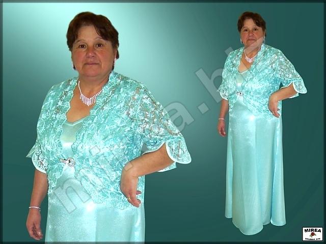 0e3008d92aa7 MIREA - Dámske spoločenské šaty - bolerko z čipky 318
