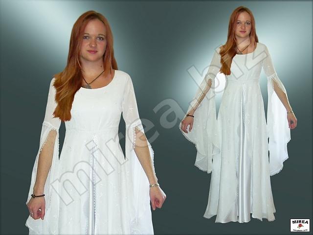 0aa50cb67135 MIREA - Dámske svadobné šaty gotického strihu 422