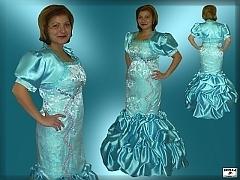 1c6dd21ed480 MIREA - zákazkové šitie  Šaty dámske 4
