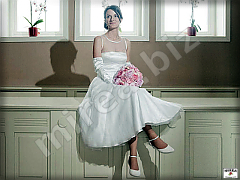 wedding tulle and satin dresses