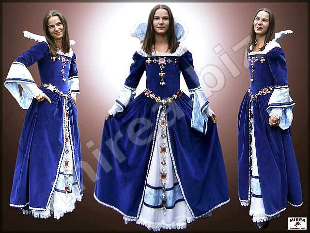 Šľachtické barokové šaty · Šľachtický barokový kostým 1c7e046ccc8